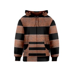 Stainless Rust Texture Background Kids  Zipper Hoodie