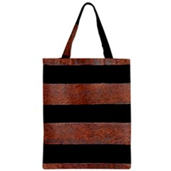 Stainless Rust Texture Background Zipper Classic Tote Bag