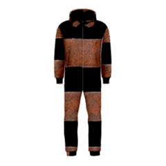 Stainless Rust Texture Background Hooded Jumpsuit (Kids)