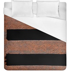 Stainless Rust Texture Background Duvet Cover (king Size)