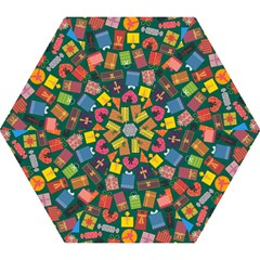Presents Gifts Background Colorful Mini Folding Umbrellas