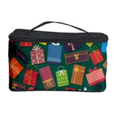 Presents Gifts Background Colorful Cosmetic Storage Case