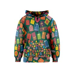 Presents Gifts Background Colorful Kids  Zipper Hoodie