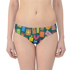 Presents Gifts Background Colorful Hipster Bikini Bottoms