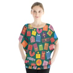 Presents Gifts Background Colorful Blouse