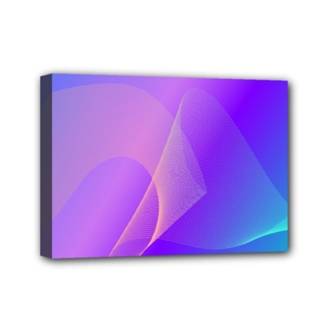 Vector Blend Screen Saver Colorful Mini Canvas 7  X 5