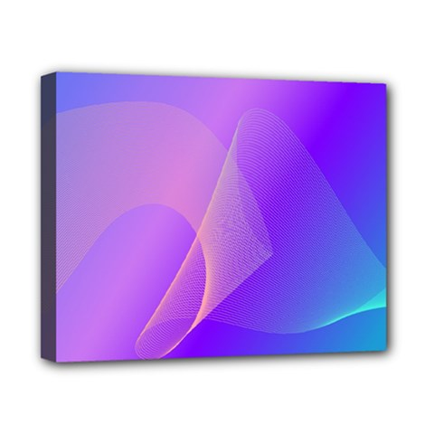 Vector Blend Screen Saver Colorful Canvas 10  X 8