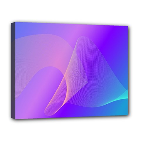 Vector Blend Screen Saver Colorful Canvas 14  X 11