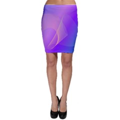 Vector Blend Screen Saver Colorful Bodycon Skirt