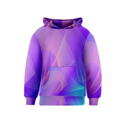 Vector Blend Screen Saver Colorful Kids  Pullover Hoodie