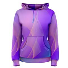 Vector Blend Screen Saver Colorful Women s Pullover Hoodie