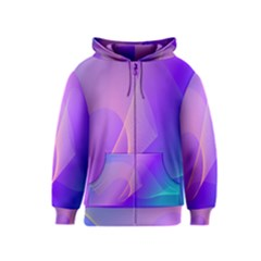 Vector Blend Screen Saver Colorful Kids  Zipper Hoodie