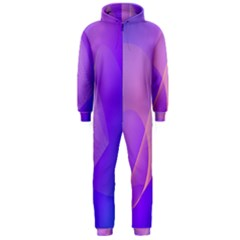 Vector Blend Screen Saver Colorful Hooded Jumpsuit (men)