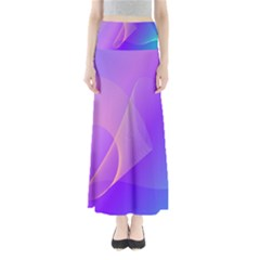 Vector Blend Screen Saver Colorful Maxi Skirts