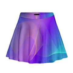 Vector Blend Screen Saver Colorful Mini Flare Skirt