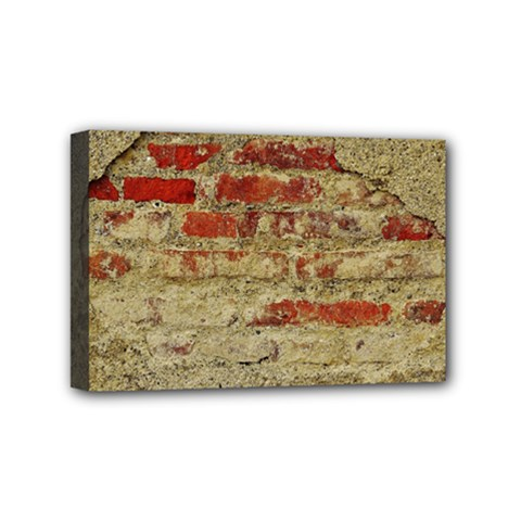 Wall Plaster Background Facade Mini Canvas 6  x 4
