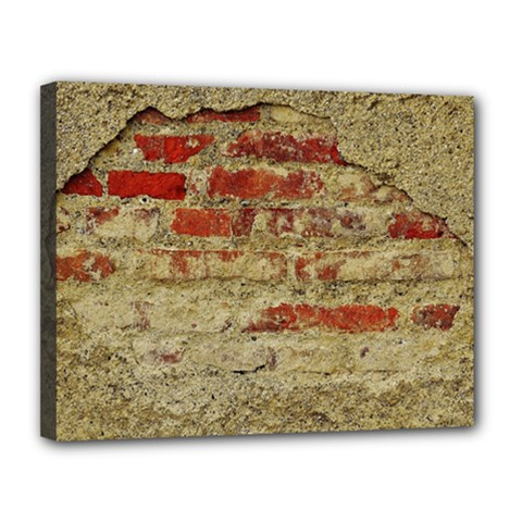Wall Plaster Background Facade Canvas 14  X 11