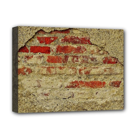 Wall Plaster Background Facade Deluxe Canvas 16  x 12