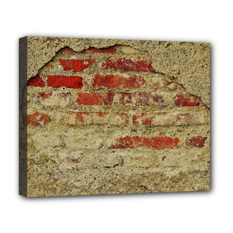Wall Plaster Background Facade Deluxe Canvas 20  X 16