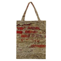Wall Plaster Background Facade Classic Tote Bag
