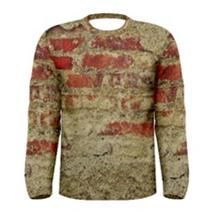 Wall Plaster Background Facade Men s Long Sleeve Tee