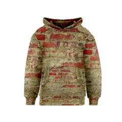 Wall Plaster Background Facade Kids  Pullover Hoodie