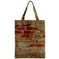 Wall Plaster Background Facade Zipper Classic Tote Bag