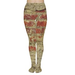 Wall Plaster Background Facade Women s Tights