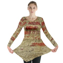 Wall Plaster Background Facade Long Sleeve Tunic