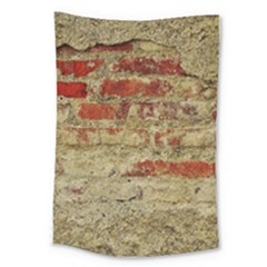 Wall Plaster Background Facade Large Tapestry