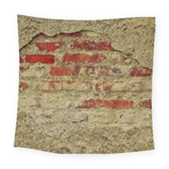 Wall Plaster Background Facade Square Tapestry (large)