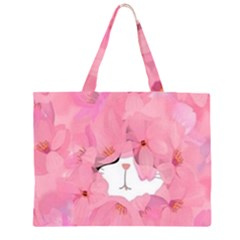 Gorgeous pink flowers  Large Tote Bag
