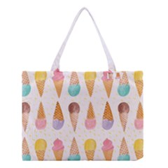 Colorful ice cream  Medium Tote Bag