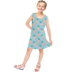 Cute pineapple Kids  Tunic Dress