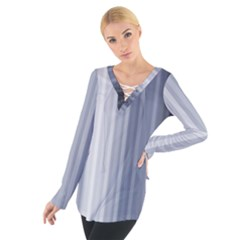 Gray Line Women s Tie Up Tee