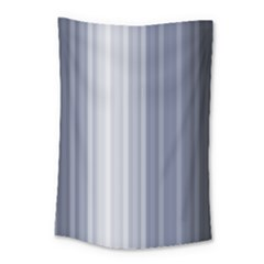 Gray Line Small Tapestry