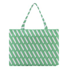 Green White Desktop Medium Tote Bag