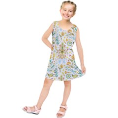 Pastel flowers Kids  Tunic Dress