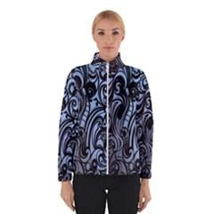Gray Batik Blue Winterwear