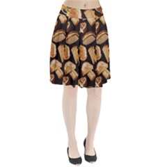 Delicious snacks Pleated Skirt