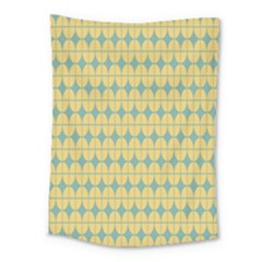 Green Yellow Medium Tapestry