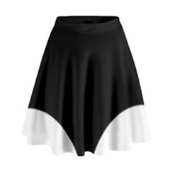 Cute pinguin High Waist Skirt