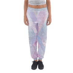 Pastel colored crystal Women s Jogger Sweatpants