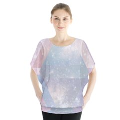 Pastel colored crystal Blouse