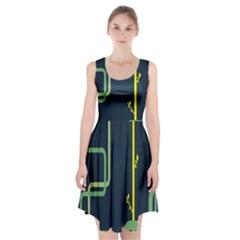 Plumbing Racerback Midi Dress