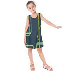 Plumbing Kids  Sleeveless Dress