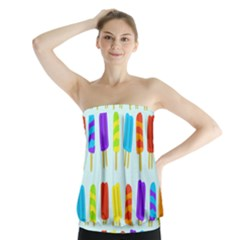 Popsicle Strapless Top