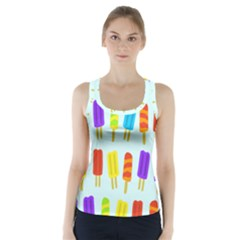Popsicle Racer Back Sports Top