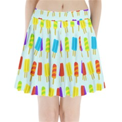 Popsicle Pleated Mini Skirt