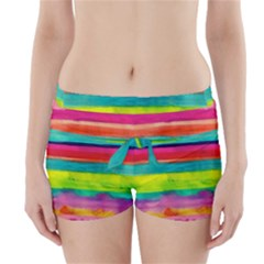 Painted wet  paper Boyleg Bikini Wrap Bottoms
